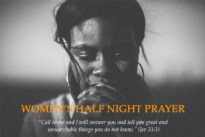 WoW Half Night Prayer @ CLF Church Office